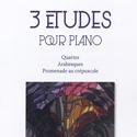 Patrick Le Junter - 3 études pour piano