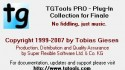 TG Tools for Finale 2008 update.