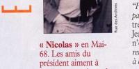 Aujourd'hui c'est l'anniversaire de Nicolas Sarkozy