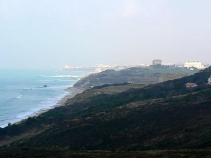 Biarritz vue des falaises