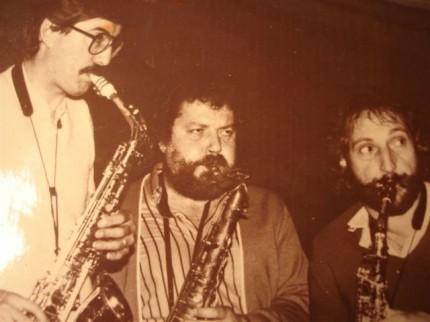 Biarritz 1982 Pierre Fagalde, Pierre Boyer et André Villeger