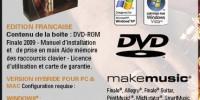 Makemusic Finale 2009 en français est arrivé