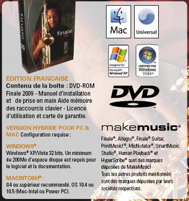 Makemusic Finale existe désormais en français
