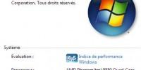 Windows7 et Finale 2009
