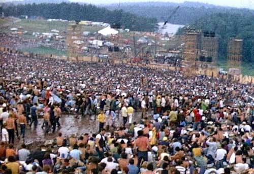 Le festival de Woodstock