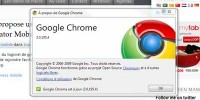 Record de vitesse sur internet avec Google Chrome