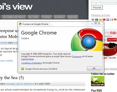 Chrome le navigateur selon Google