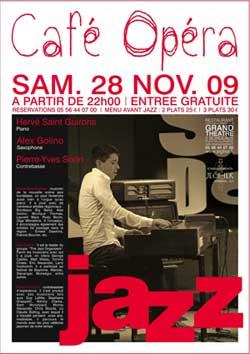 Jazz au Café de l'Opéra à Bordeaux