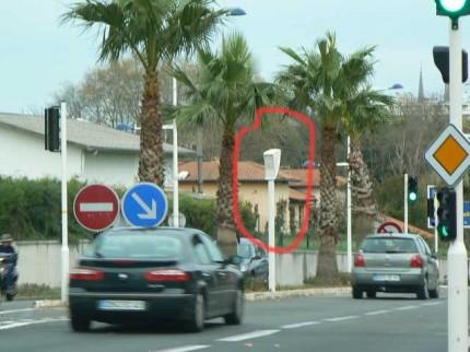 Radar de feu rouge N10 Villa Pia
