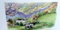 Les aquarelles du Pays Basque de Monique Blanc