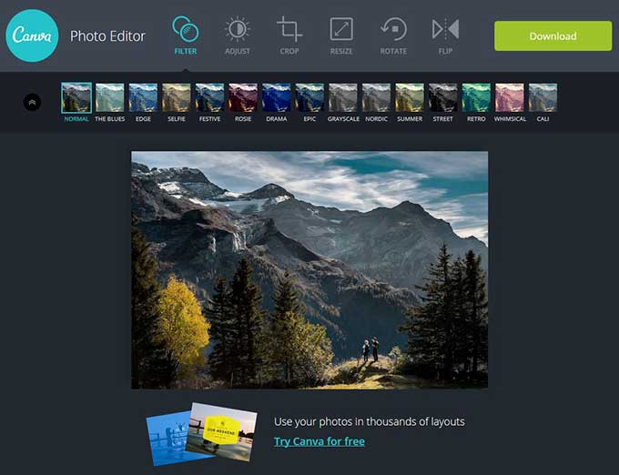 Canva-photo-editor
