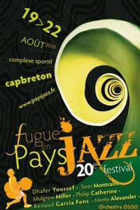 fugue en pays jazz Capbreton 2010