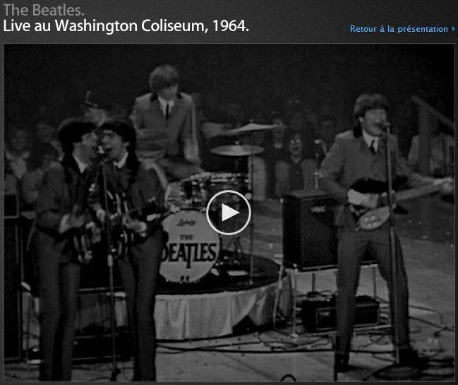 Beatles en concert du 11 février 1964
