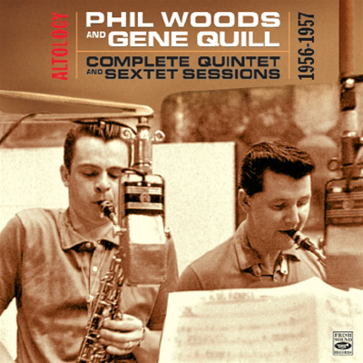 Couverture Phil Woods et Gene Quill