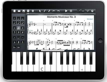 symphony pro notation musicale pour iPad