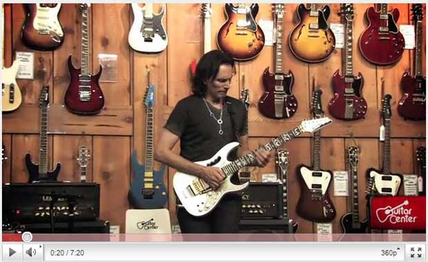Steve Vai video Youtube