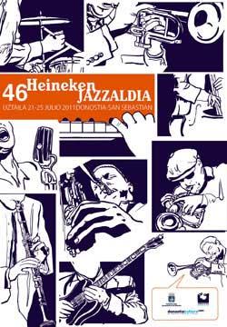 Affiche du 46ème Jazzaldia San Sebastian