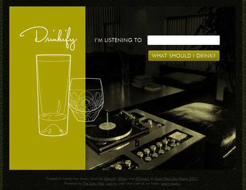pour boire sa musique