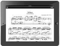 Lire des partitions sur iPad avec Finale music viewer