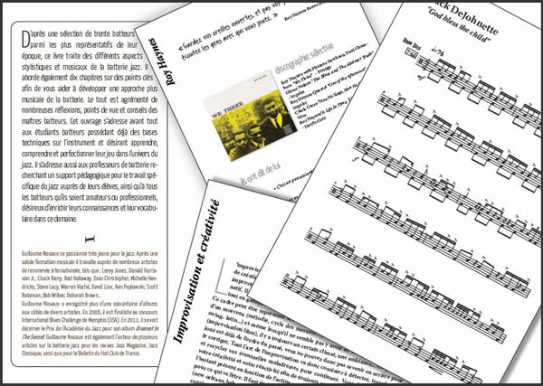 Une approche l'histoire de la batterie jazz