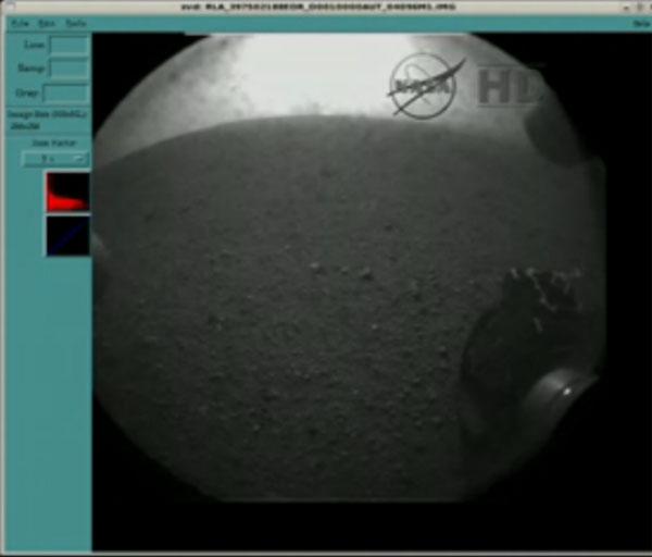 Curiosity s'est posé sur Mars