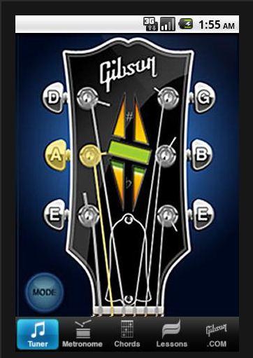 Cours de guitare avec Gibson
