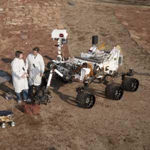 Quelle est la taille, grandeur de Curiosity ?