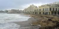 Mer forte à Biarritz galerie WordPress