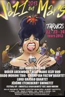 affiche jazz en mars 2013