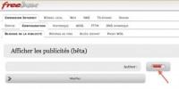 La mise à jour de la Freebox instaure le blocage des publicités. AdGate