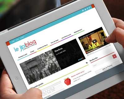 jipiblog sur iPad
