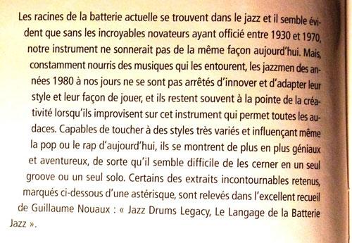 Batteur Magazine 266 fevrier 2013 extrait