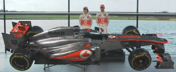 F1 2013 McLaren Mercedes MP4-28