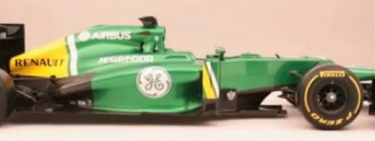 F1 – Nouvelle Catheram CT03 2013