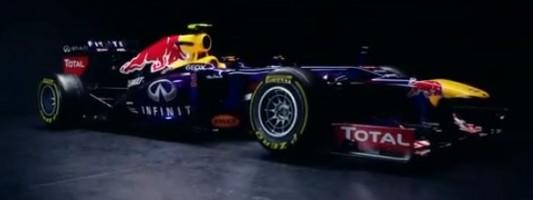 La nouvelle Formule 1 Red Bull Renault RB9  2013