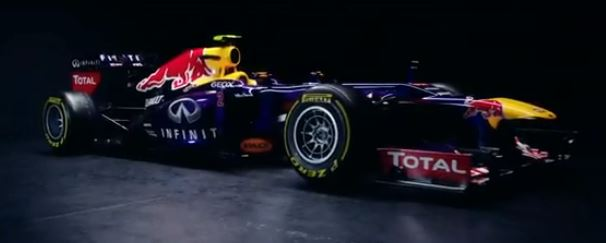 F1 Red Bull RB9 saison 2013