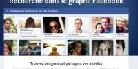 Facebook lance son nouvel outil de recherche Graphsearch