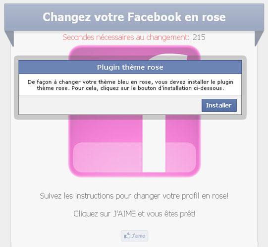 changer couleur de facebook