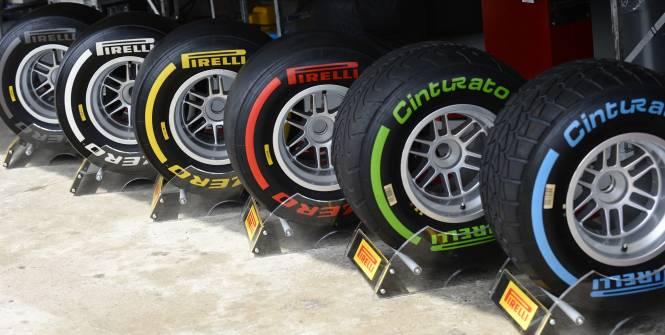 Les pneus Pirelli pour 2013
