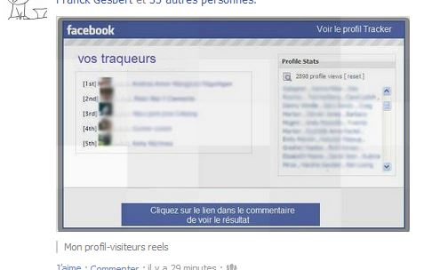 vos traqueurs sur facebook