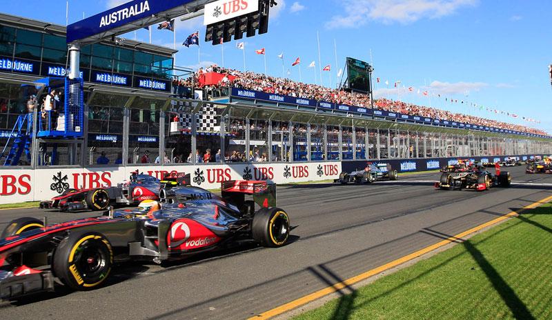 F1 grand prix Australie Melbourne