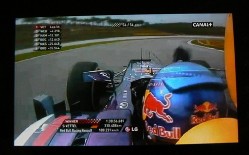 Vettel GP Malaisie 2013