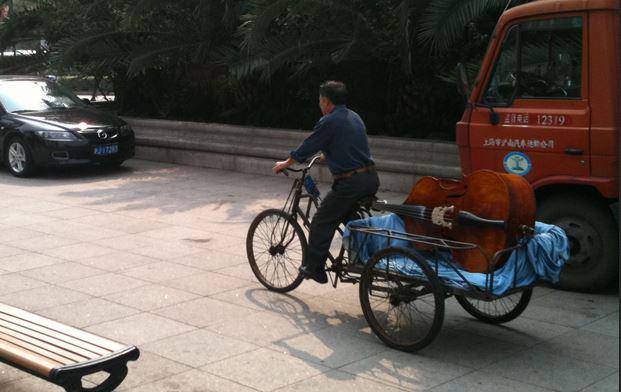 transport de contrebasse