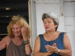 Marie France Casalan et Claire Le Fur