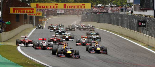 F1 interlagos depart