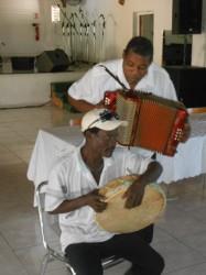 Jacques Davillars accompagné par le tambour.