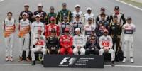 Les pilotes de la Formule 1