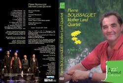 DVD Boussaguet Mother land Quartet cover