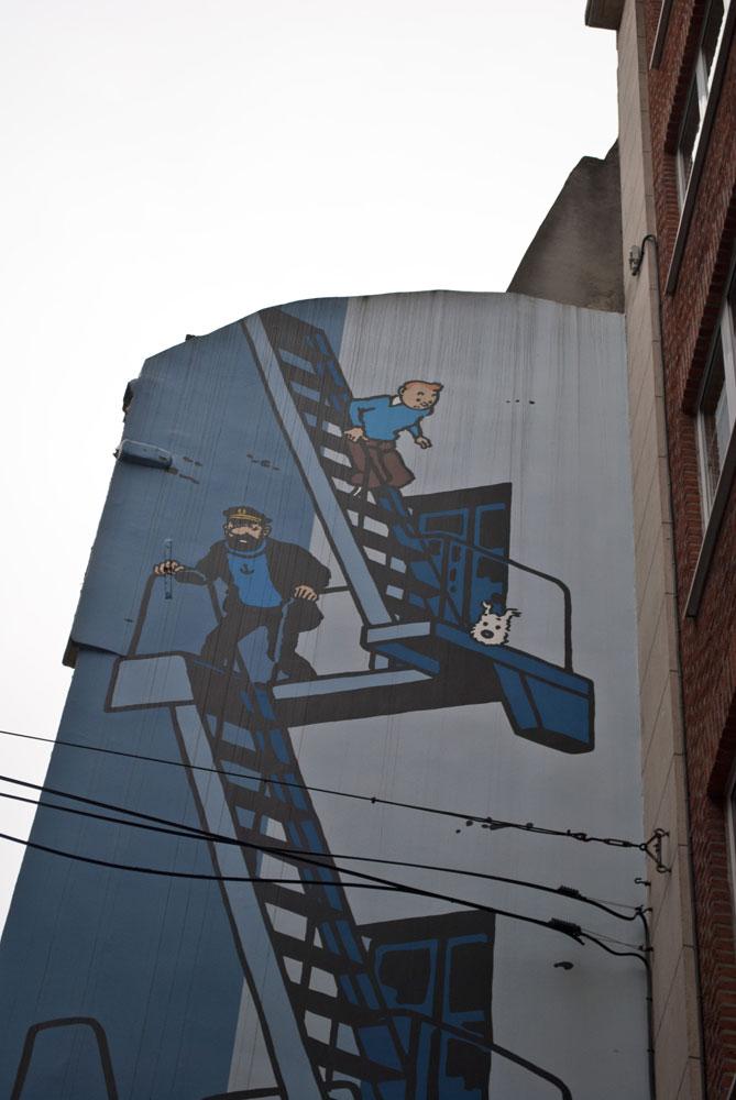 Bruxelles capitale de la Bande dessinnée