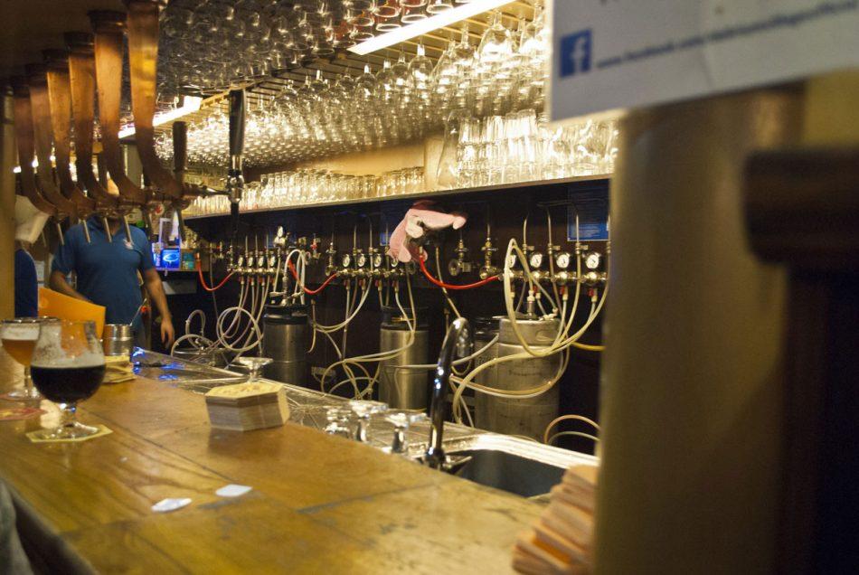 Machinerie à bière à Bruxelles